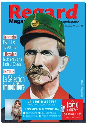 coco,peintre,facteur cheval,palais Idéal,Regard Magazine,Hauterives,portraits,coco peintre