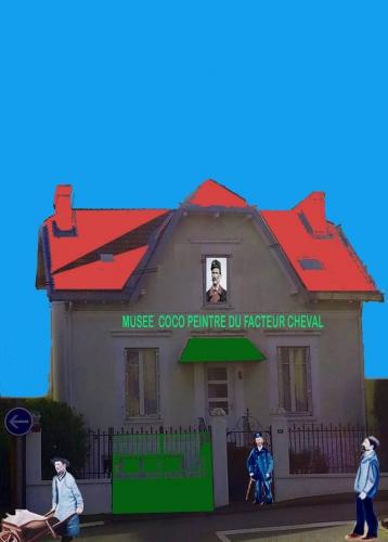 coco peintre,facteur Cheval,musée,coco,auvergne,hauterives,palais idéal