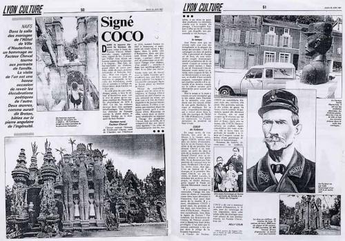 coco,peintre,facteur cheval,palais idéal,hauterives,Drôme