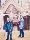 coco,Palais Idéal,peintre,facteur cheval,