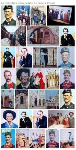 coco,peintre,facteur Cheval,Palais Idéal,coco peintre du facteur Cheval,Hauterives,Drôme,film facteur Cheval